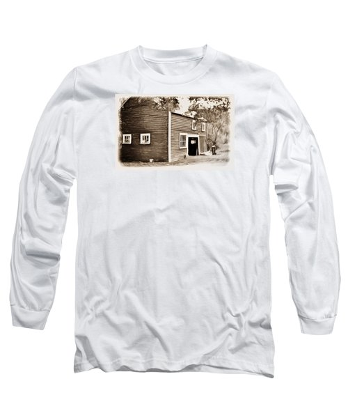 Barn In The Woods Long Sleeve T-Shirt