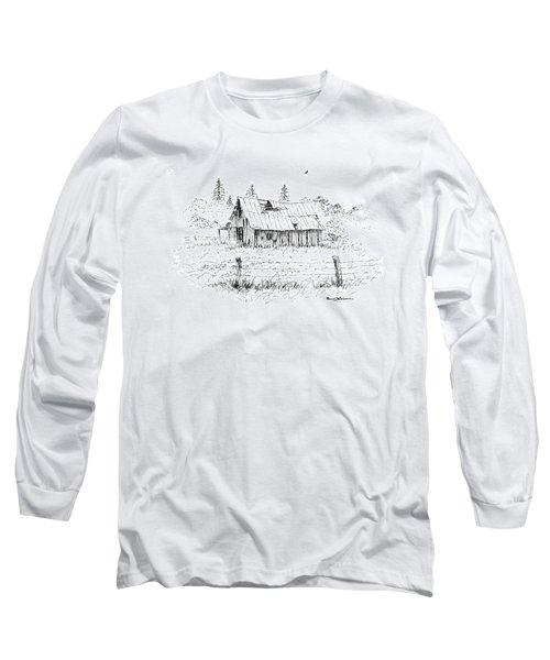 Barn With Skylight Long Sleeve T-Shirt