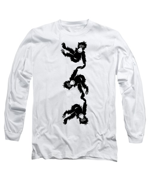 Barrel Full Of Monkeys T-shirt Long Sleeve T-Shirt
