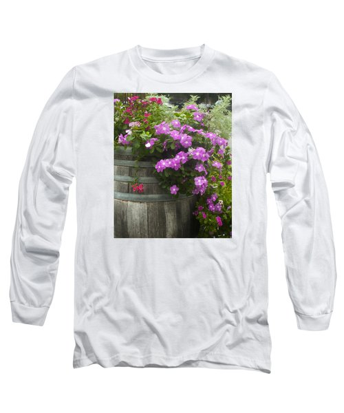 Barrel Of Flowers Long Sleeve T-Shirt