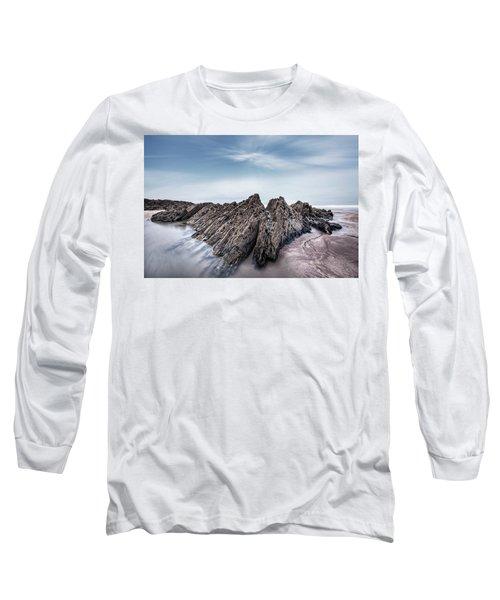 Barricane Beach - England Long Sleeve T-Shirt