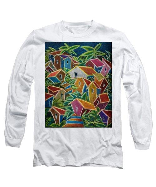 Barrio Lindo Long Sleeve T-Shirt by Oscar Ortiz