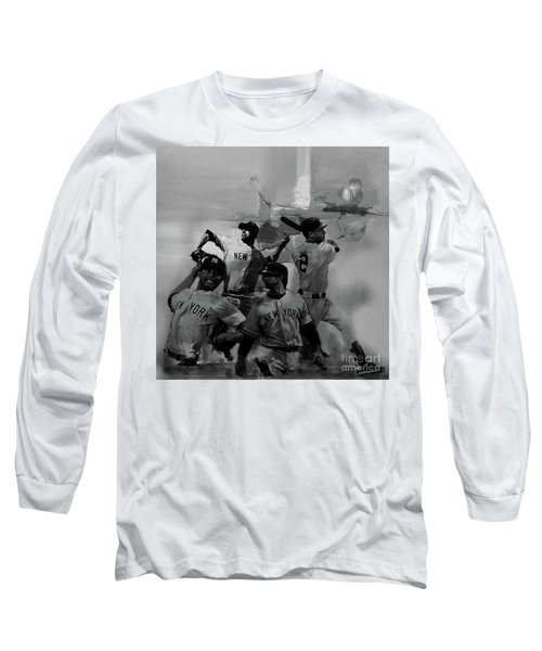 Base Ball Players Long Sleeve T-Shirt