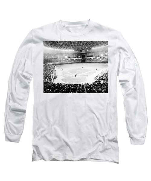 Baseball: Astrodome, 1965 Long Sleeve T-Shirt