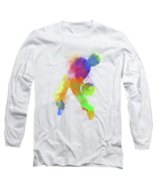 Basketball Watercolor 1 Long Sleeve T-Shirt