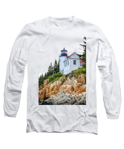 Bass Harbor Head Lighthouse 1 Long Sleeve T-Shirt