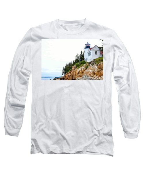Bass Harbor Head Lighthouse 2 Long Sleeve T-Shirt