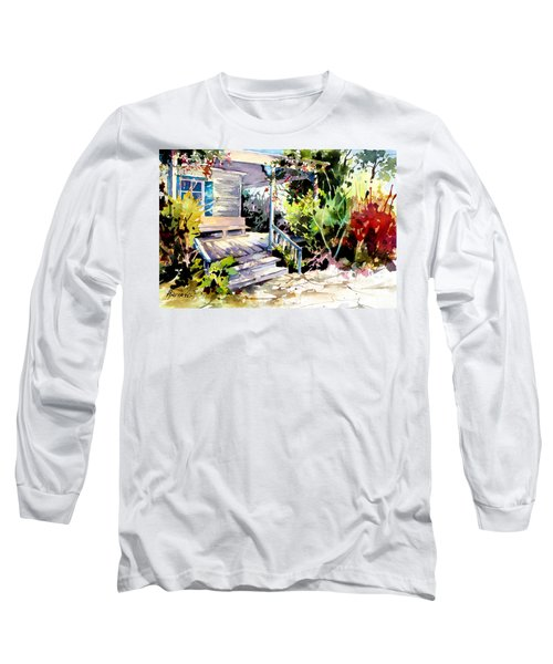 Bastrop Welcome Long Sleeve T-Shirt by Rae Andrews