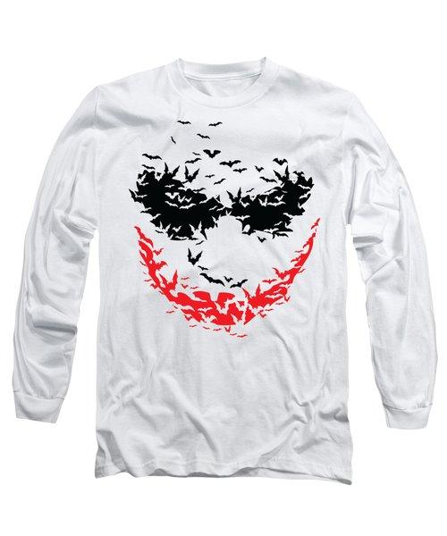 Bat Face Long Sleeve T-Shirt