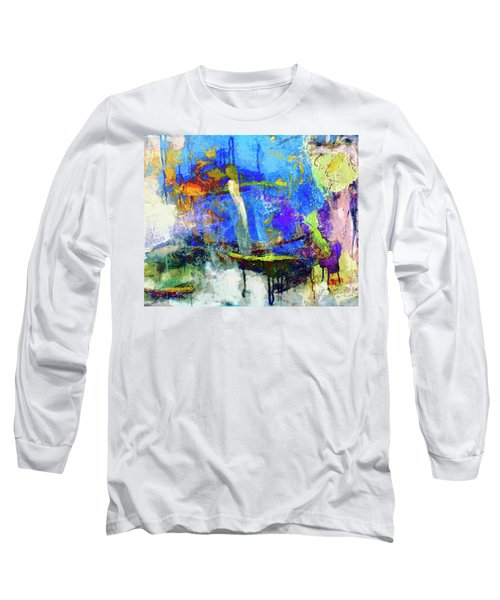 Long Sleeve T-Shirt featuring the painting Bayou Teche by Dominic Piperata