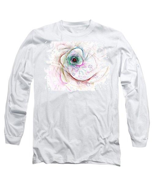 Be Strong Little Flower Long Sleeve T-Shirt