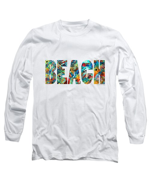 Beach Art - Beachy Keen - By Sharon Cummings Long Sleeve T-Shirt by Sharon Cummings