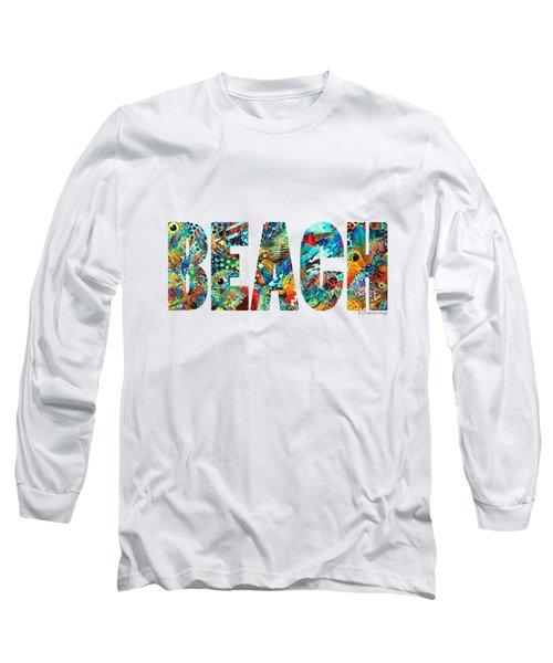 Beach Art - Beachy Keen - By Sharon Cummings Long Sleeve T-Shirt