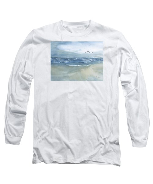 Beach Blue Long Sleeve T-Shirt