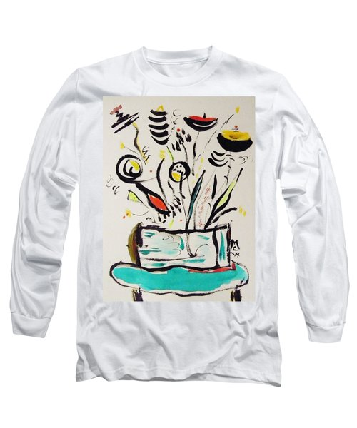 Beach Blue Table Long Sleeve T-Shirt