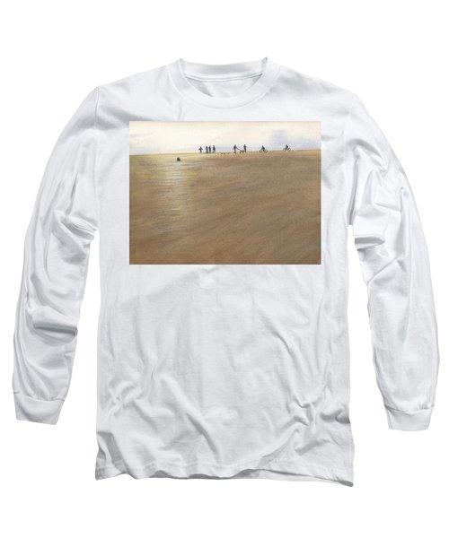 Beach Bocce Bikes Long Sleeve T-Shirt