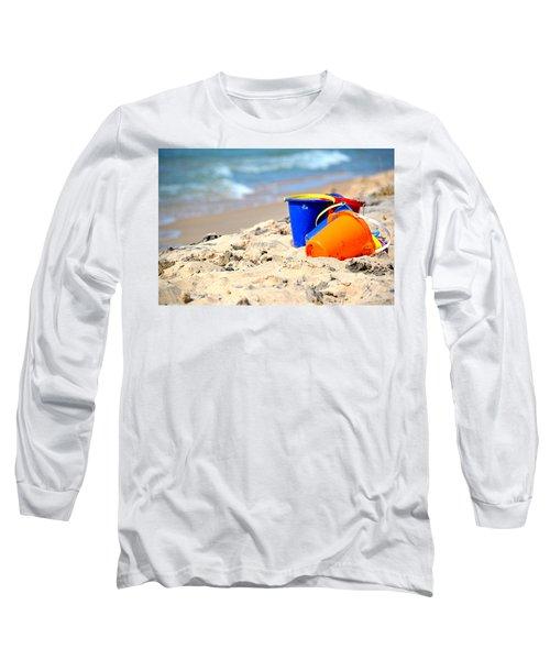 Beach Buckets Long Sleeve T-Shirt
