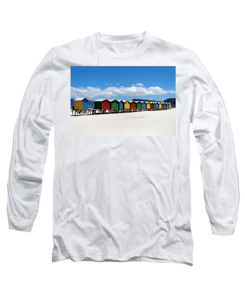 Beach Cabins  Long Sleeve T-Shirt