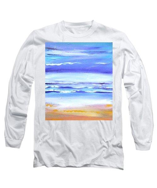 Beach Dawn Long Sleeve T-Shirt by Winsome Gunning