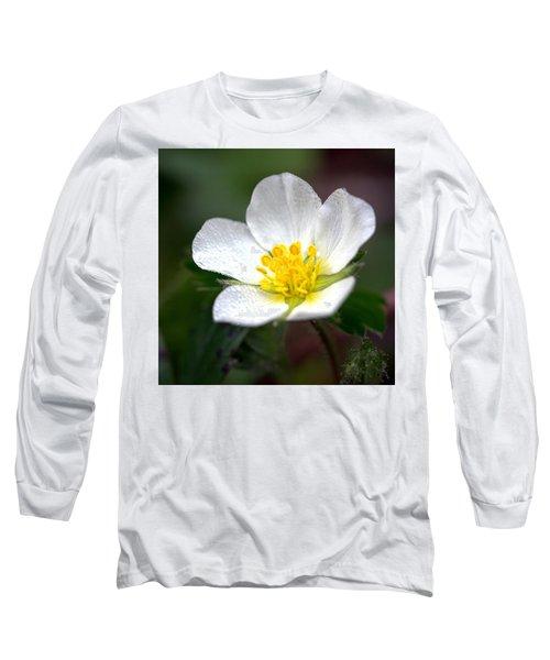 Beach Flower Long Sleeve T-Shirt