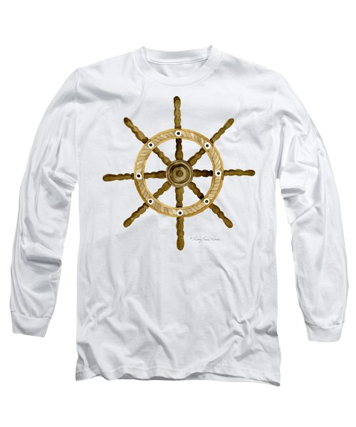 Beach House Nautical Boat Ship Anchor Vintage Long Sleeve T-Shirt