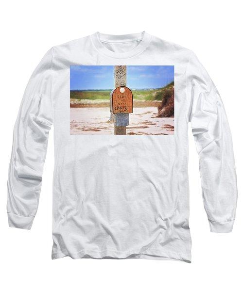 Beach Mail Long Sleeve T-Shirt