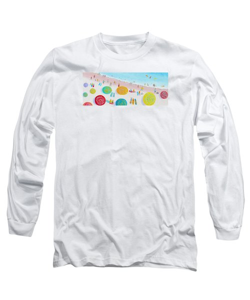 Beach Painting - The Simple Life Long Sleeve T-Shirt