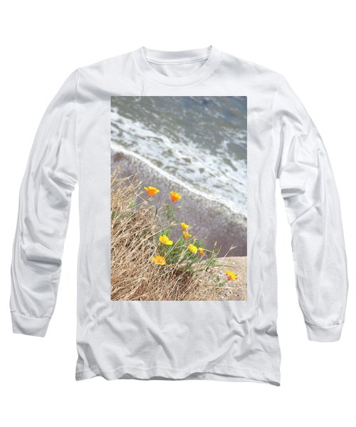 Beach Poppies Long Sleeve T-Shirt