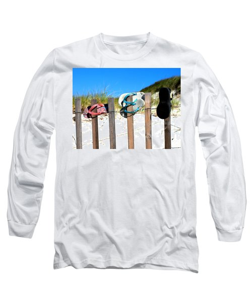 Beach Sandels  Long Sleeve T-Shirt