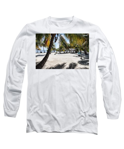 Beach Volleyball Court Long Sleeve T-Shirt