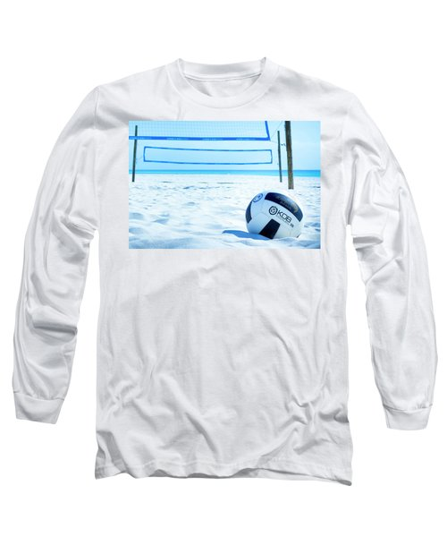 Volleyball On The Beach Long Sleeve T-Shirt