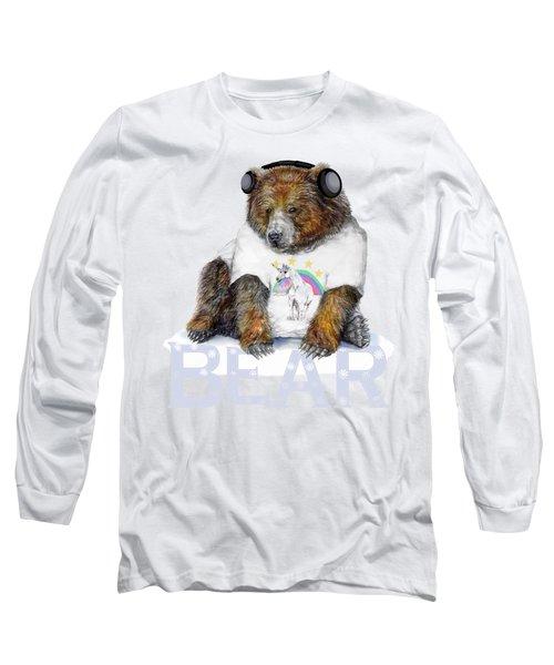 Bear Dj Long Sleeve T-Shirt