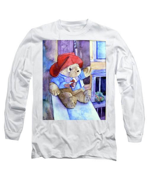 Bear In Venice Long Sleeve T-Shirt