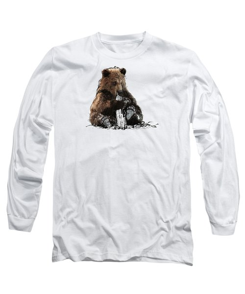 Bear Loves Ny Long Sleeve T-Shirt by Devlin