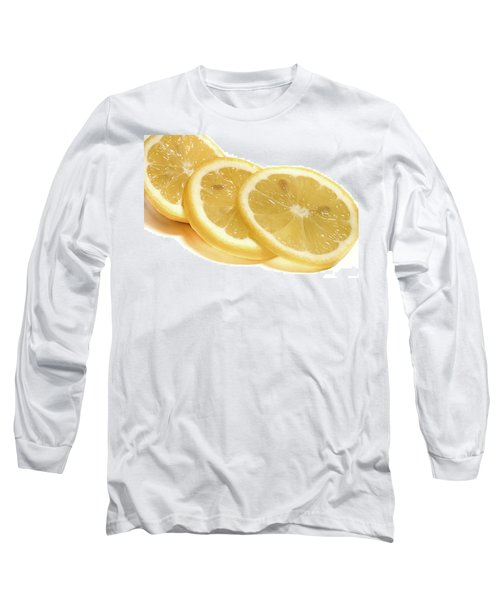Beat The Heat With Refreshing Fruit Long Sleeve T-Shirt by Nick Mares