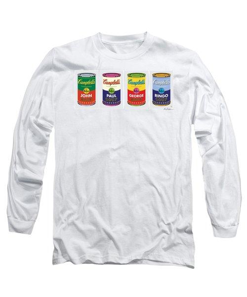 Beatle Soup Cans Long Sleeve T-Shirt