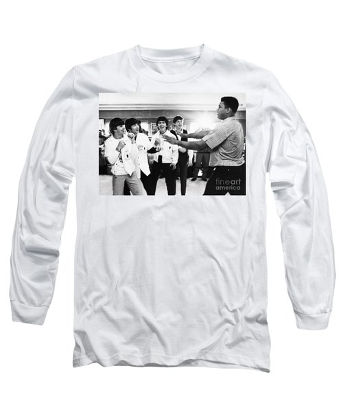 Beatles And Clay, 1964 Long Sleeve T-Shirt