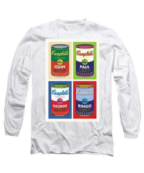 Beatles Soup Long Sleeve T-Shirt