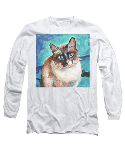 Beau Kitty Long Sleeve T-Shirt