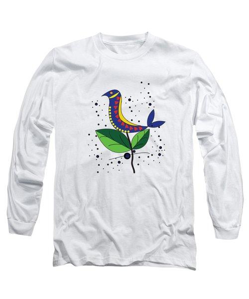 Beautiful Bird Long Sleeve T-Shirt