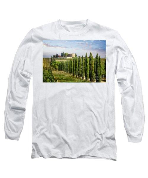 Long Sleeve T-Shirt featuring the photograph Beautiful Chianti by Scott Kemper