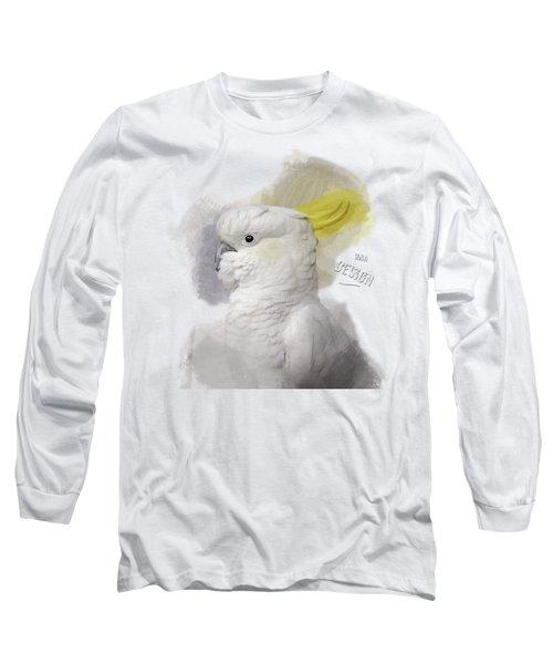 Beautiful Cockatoo No 01 Long Sleeve T-Shirt