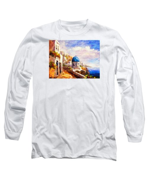 Beautiful Greece Long Sleeve T-Shirt
