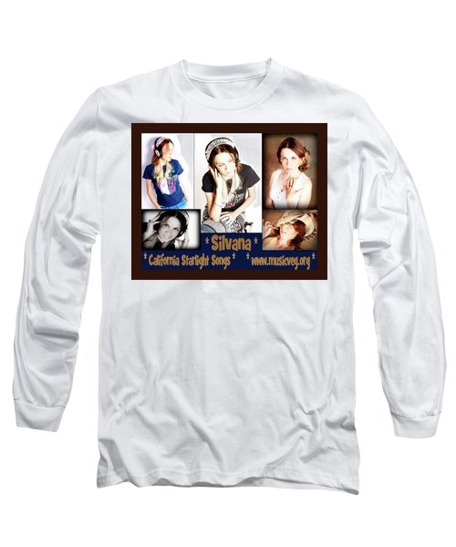 Beautiful Images Of Hot Photo Model Long Sleeve T-Shirt by Silvana Vienne