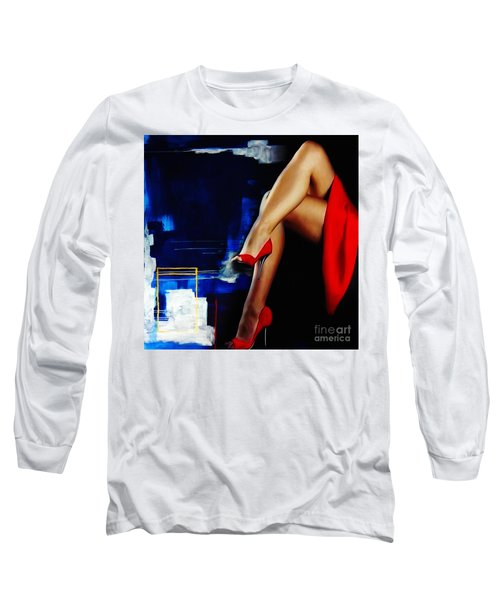 Beautiful Legs 02  Long Sleeve T-Shirt