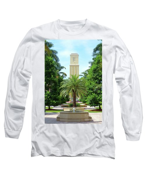Beautiful Mizner Park In Boca Raton, Florida. #5 Long Sleeve T-Shirt