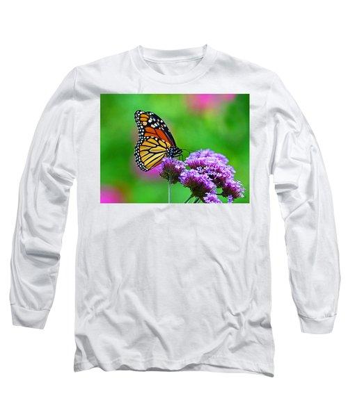 Beautiful Monarch Long Sleeve T-Shirt