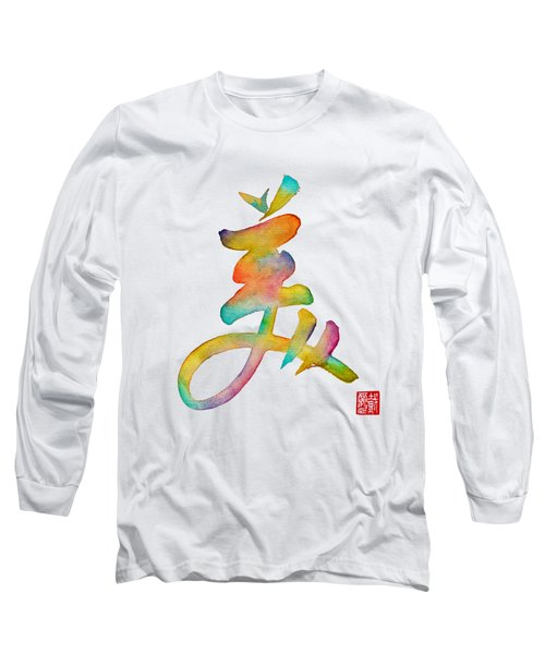 Beautiful Long Sleeve T-Shirt by Oiyee At Oystudio