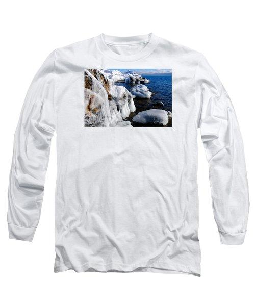 Beautiful Superior Ice Long Sleeve T-Shirt by Sandra Updyke