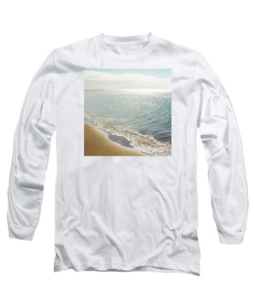 Long Sleeve T-Shirt featuring the photograph Beauty And The Beach by Sharon Mau